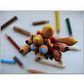 coulored pencils crayon painting drawing