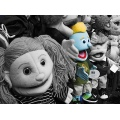 puppet bw toy fun kids color