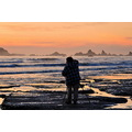 crescent city california pacific ocean rocks sunset lisasam67