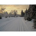 CzechRepublic Bohemia mountains crosscountry skiing winter