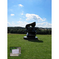 15. Not sure whether I like Henry Moore's work but it's in a glorious setting!  Looking downhil...