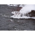 winter stream frozenwater