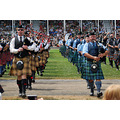 The pipers up close....can't you hear the sound of those pipes?