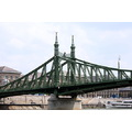 steel bridge truss green
