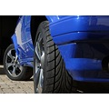 car blue vw mags
