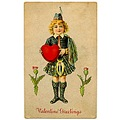 Happy Valentines Day Vintage Image