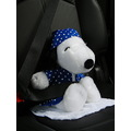 Snoopy seat belt travel