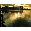 reflectionthursday sunset olympic village vancouver bc peterpinhole