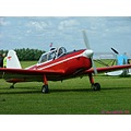 plane red outside show RAF