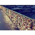 notre dame seine Love padlocks lovers paris