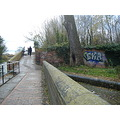 graffiti canal bridge stourbridge
