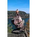 devils lake climbing outdoors