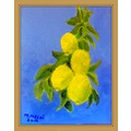 painting acrylic lemons fruit