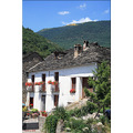 spain landscape village town house