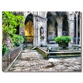 spain barcelona cathedral church goose spaix barcx archs churs
