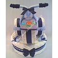 tricycle bicycle diaper cake baby boy girl shower gift ideas