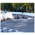 Today�s bicycle trip along the river Danube - go-kart race.