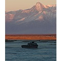 abandoned fishing boat near Knik, Alaska