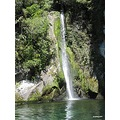 Waterfall Taupo lake