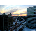 landscape architecture winter sunset Winnipeg Manitoba Canada