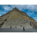 e620 sky clouds beach reynisfjara mountain cliffs Iceland