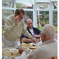 Mum's 89th birthday lunch October 2013  and on ours were Marianne and James. As usual we had ov...