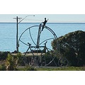 one of the exciting new swings at Oamarus latest playground keeping in the theme of the Victorian...
