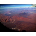 flying in S America over Argentina