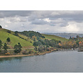 lakechabotfph lake chabot park trail autumn marina boats clouds