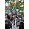 mermaid parade coneyisland brooklyn newyork people stilts