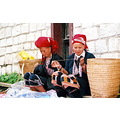 The Dao minority people in Sapa. ( Người d�n tộc Dao). They are very friendly!