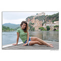 girl woman portrait miravet river nature spain summer