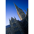 salisbury cathedral sky architecture