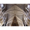 Southwark Cathedral ceiling font cover