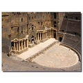 syria bosra architecture theater syrix bosrx archs theas