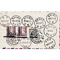 Taiwan formosa postmark stamps china chinese stamp collection postoffice travle