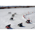 winter powersledraces snowmobileraces beausejour manitoba 2009 sports