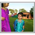 My Nieces in Traditional Dresses of Pakistan