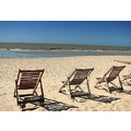Jericoacoara Ceara Brazil Beach Northeast Chairs
