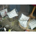 cushions shop window Helmsley