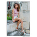 girl woman wife portrait park summer pink nikon sigma pleven bulgaria