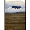 mountain iceland fog nature bleak heath gravel brown jarlhettur