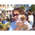 pet contest in clinton soffie dressed like a baby