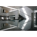 architecture interior reflection color house black