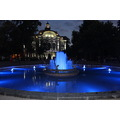 plovdiv blue fountain my home town bulgaria petzka night