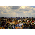 Paris Rooftops Eiffel Tower architecture