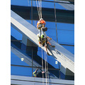 reflectionthursday workers abseiling biulding cbd saturday morning