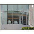 window office spheres balls architechture