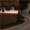 house pink road winding ireland thatch roof