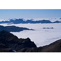 over the fog schilthorn Switzerland